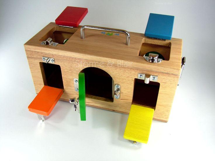 Montessori lock box