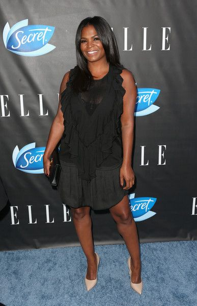 Actress Nia Long attends ELLE Women In Comedy event hosted by ELLE Editor-in-Chief Robbie Myers and Leslie Jones, Melissa McCarthy, Kate McKinnon and Kristen Wiig on June 7, 2016 at Hyde Sunset in Los Angeles, California; presented by Secret Deodorant and emceed by Jane Lynch with stand-up performances by Michelle Buteau, Nikki Glaser, Iliza Shlesinger, and Ali Wong.