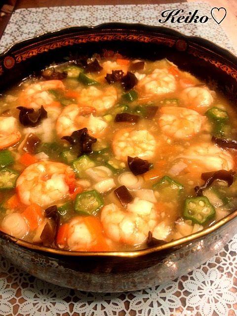 ジャンボサイズの、中華餡かけ茶碗蒸しです。熱々を皆ですくって、そのままでも、ご飯にかけても - 243件のもぐもぐ - ジャンボ‼ 中華餡かけ茶碗蒸し by 2525Keiko