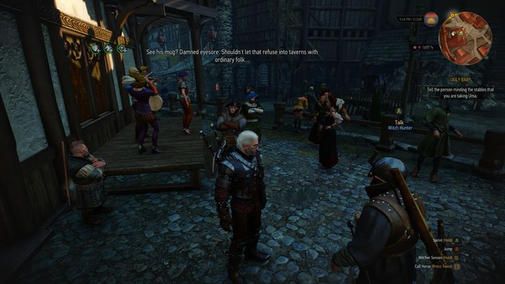 So some witch hunters decided they liked to drink at Dandelions new Cabaret. It's bizarre. #TheWitcher3 #PS4 #WILDHUNT #PS4share #games #gaming #TheWitcher #TheWitcher3WildHunt