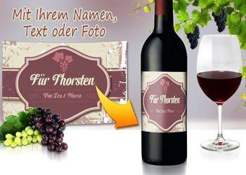 So toll! Persönliche Weinetiketten gestalten :-) #wein #geschenk #genießer #weingeschenk