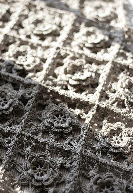 crochet detail. #crochet