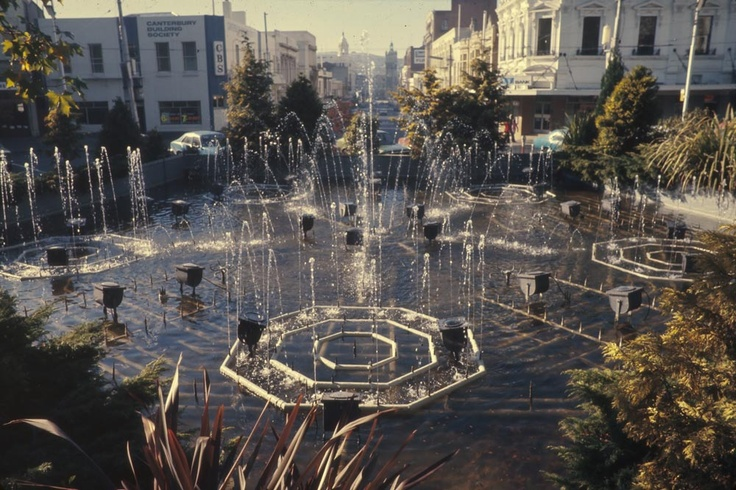 Star Fountain The Octagon Dunedin New Zealand