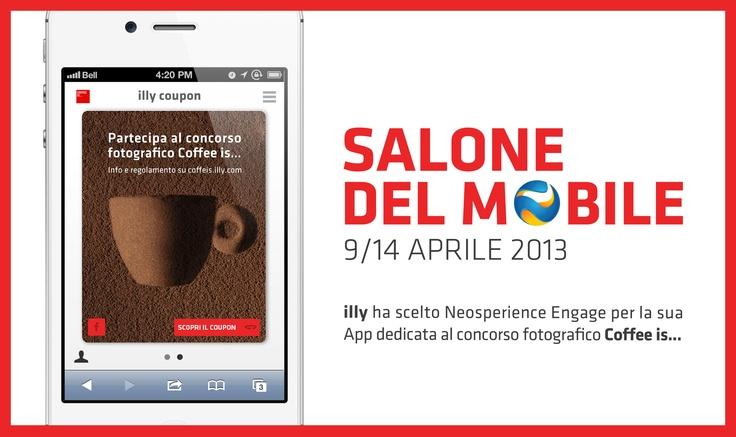 Scansiona il #QR Code #illy al Salone del Mobile 2013 e scoprirai il coupon riservato a te! #iSaloni