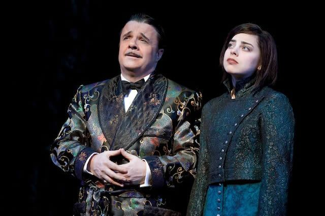 Gomez (Nathan Lane) and Wednesday (Krysta Rodriguez) - The Addams Family Musical