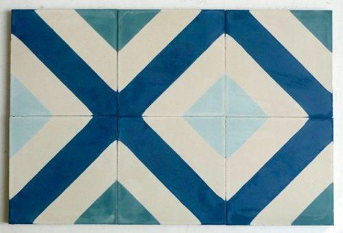 New spring tiles @ Popham Design