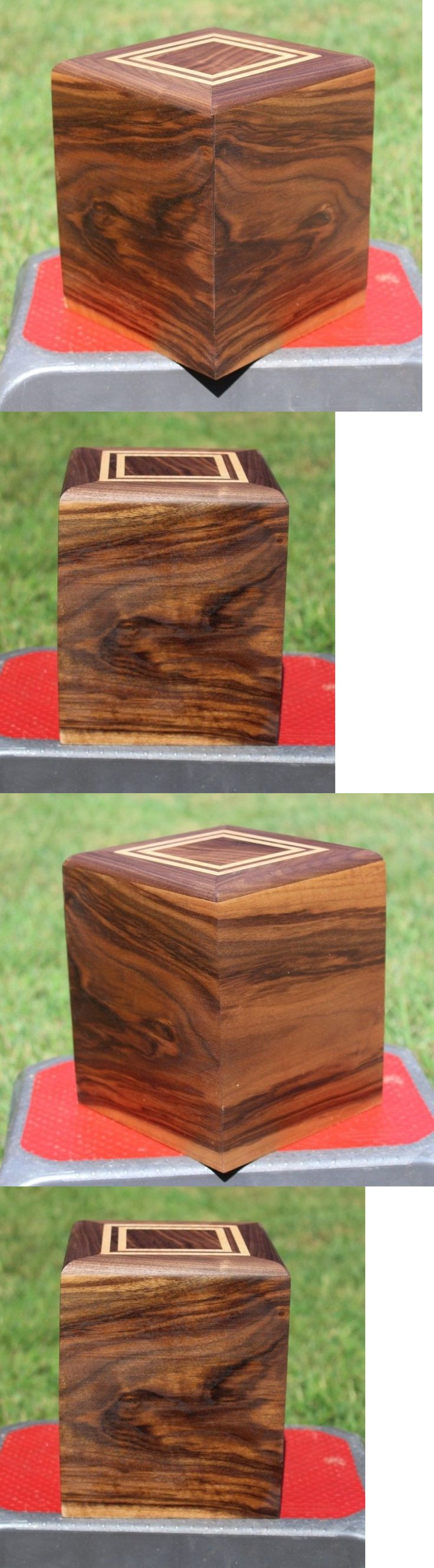 Jewelry Boxes 3820: Adult(210 Pounds) Urn-Bottom Load-Figured Walnut And Tiger Maple-Free Ship(Us) -> BUY IT NOW ONLY: $149.95 on eBay!