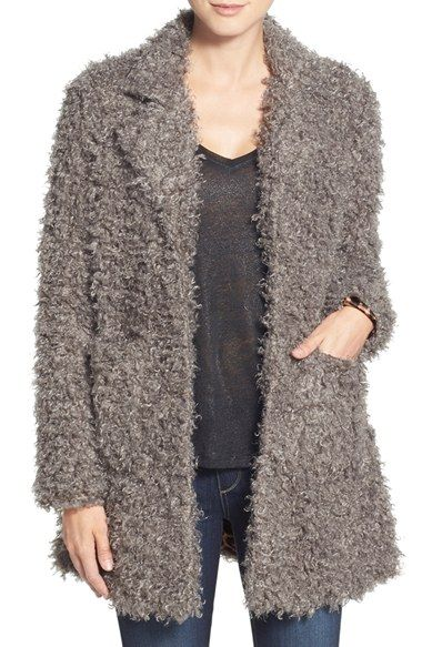 Steve Madden Faux Fur Coat available at #Nordstrom