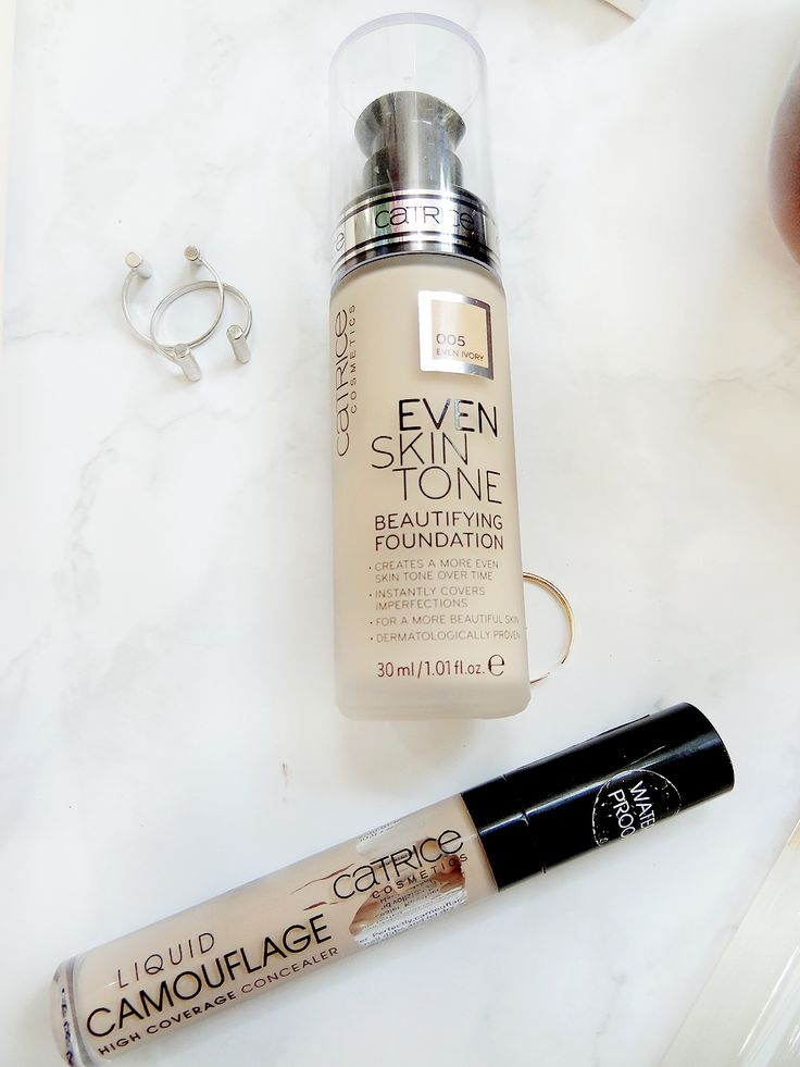Catrice foundation and concealer