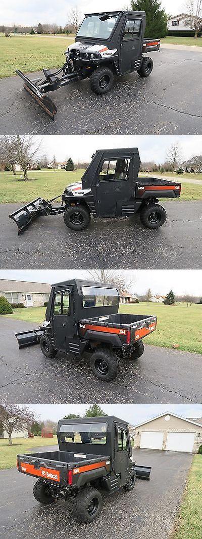 Power Sports ATVs UTVs: Bobcat 3450 Utv 4X4 900 Diesel Power Dump Bed Snow Plow Like Polaris Ranger Atv BUY IT NOW ONLY: $15900.0