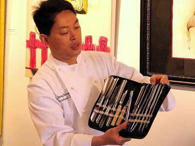 B & B: The Art of Fruit & Vegetable Carving - Jimmy Zhang / Meyve & Sebze Oyma Sanatı - Jimmy Zhang