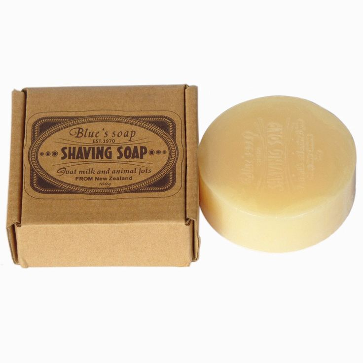 100g Shaving Soap Cream with Wooden Shaving Bowl for Men Shave Beard