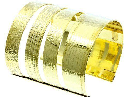 BRACELET CUFF BANGLE Gold Fashion Jewelry Costume Jewelry fashion accessory Beautiful Charms Beautiful Charms KP FASHION fashion jewelry. $11.64. BRACELET CUFF BANGLE Gold. METAL , BRACELET CUFF BANGLE Gold. Fashion Jewelry, BRACELET CUFF BANGLE Gold