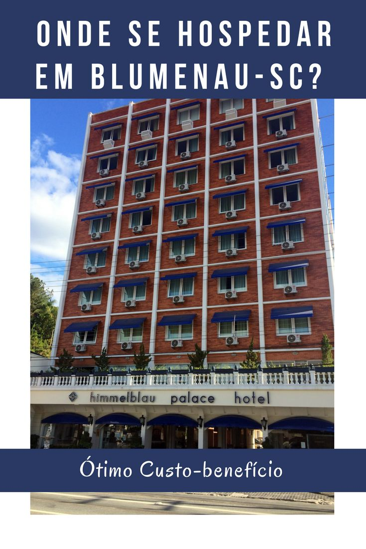 Procurando um hotel de ótimo custo benefício para se hospedar em Blumenau? Que tal o Himmelblau Palace, que está localizado no centro da cidade.