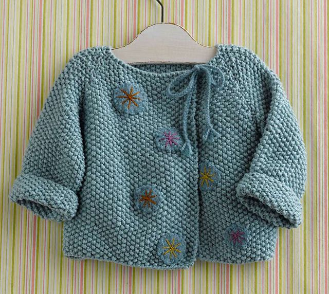 Precious Baby Jacket by Mags Kandis -   Gifted: Lovely Little Things to Knit and Crochet