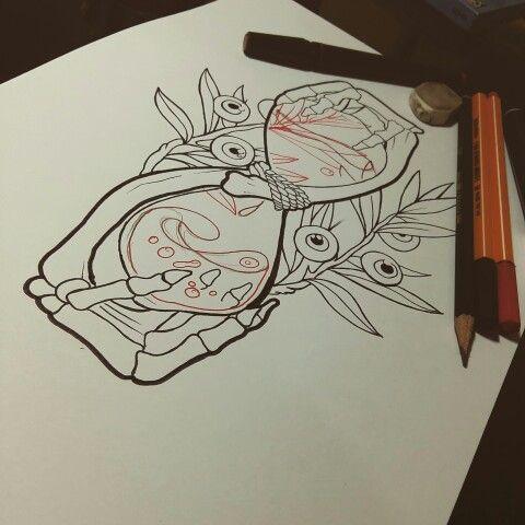 Nilton Medis Newschool tattoo