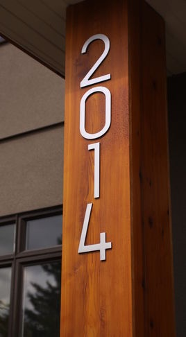 17 Best Images About House Numbers On Pinterest Modern