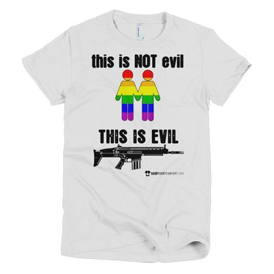 This Is Not Evil This Is Evil - Various Women's and men's sizes - in white, black, red, pink, blue, green and yellow and many more ... #angry #shirt #company #political #tshirt #tshirts #evil #gay #lgbtq #pride #gaypride #gaylove #gaycute #activist #educateyourself #injustice #equality #standup #standuptogether #stopfeedingthe1% #unite #unity #uniteagainstinequality #discrimination #shirtcompany #angryshirtcompany