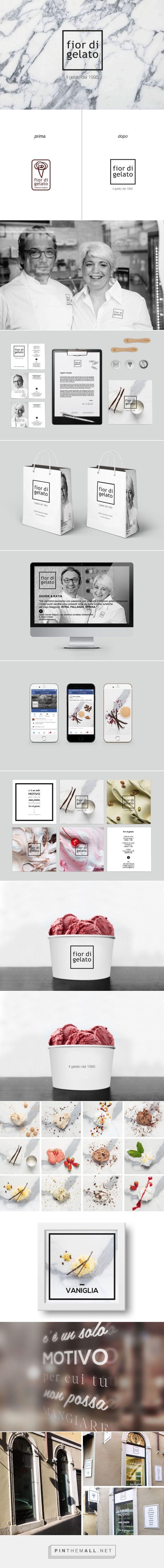 Fior di Gelato - Identity, Brand Identity, BTL, Food Design | Jam Area