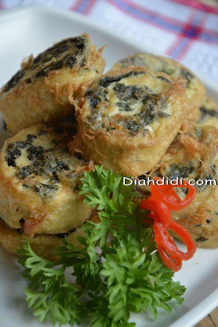 Diah Didi's Kitchen: Rollade Tahu Daun Singkong