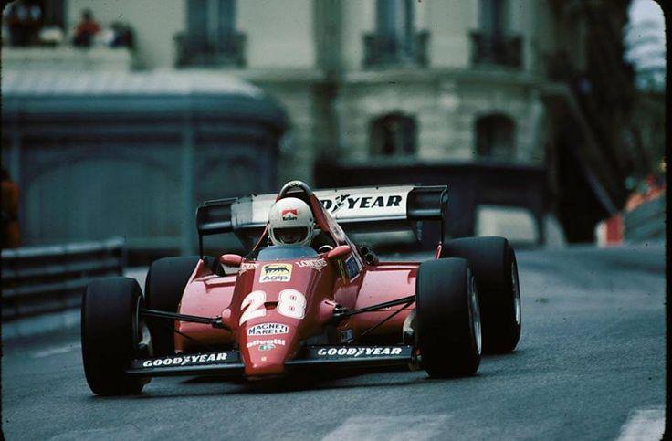 Renè Arnoux 126C3 - Monaco grand prix 1983
