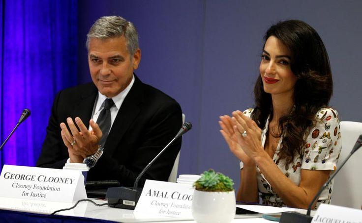 George Clooney celebra su segundo aniversario de boda con Amal: 'Y decían que no duraría'