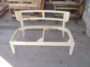 esqueleto estructura de silla sillon matero doble a tapizar