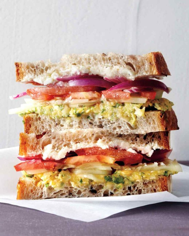Greek Salad Sandwich #lunch