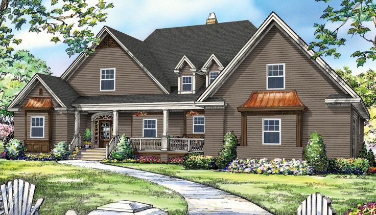 Design the exterior of the Clarkson Plan with HomePlay by Royal Building Products!