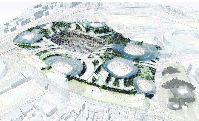 Japan Unveils Olympic Design Hopefuls   DestinAsian