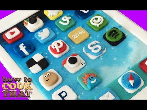 IPAD CAKE Best Apps HOW TO COOK THAT Ann Reardon - YouTube