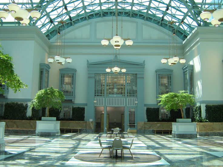 22 best chicago engagement photo locations images on Harold washington library winter garden