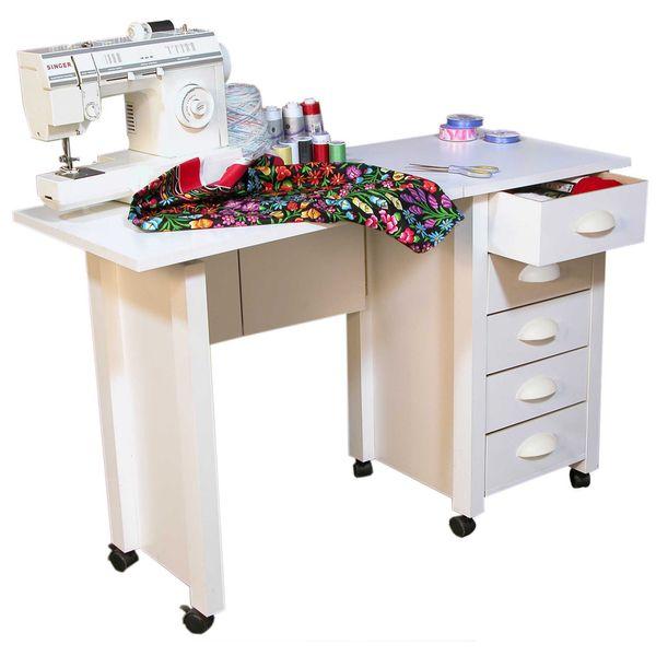 Venture Horizon White Mobile Desk and Craft Center - Overstock™ Shopping - Great Deals on Venture Horizon Desks