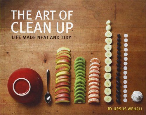 The Art of Clean Up: Life Made Neat and Tidy by Ursus Wehrli http://www.amazon.com/dp/1452114161/ref=cm_sw_r_pi_dp_fJyUub1XPMQAM  The book I referenced during our brainstorm. Whimsical visual deconstruction and organization of everyday objects. Not a literal suggestion, but interesting as a fun organized visual take on the world.