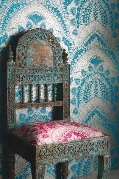 10 best images about matthew williamson on pinterest for Tapete orientalisch