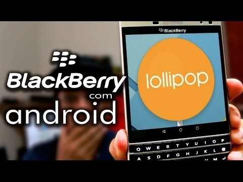 BlackBerry Passport shown running Android in new video | The Verge