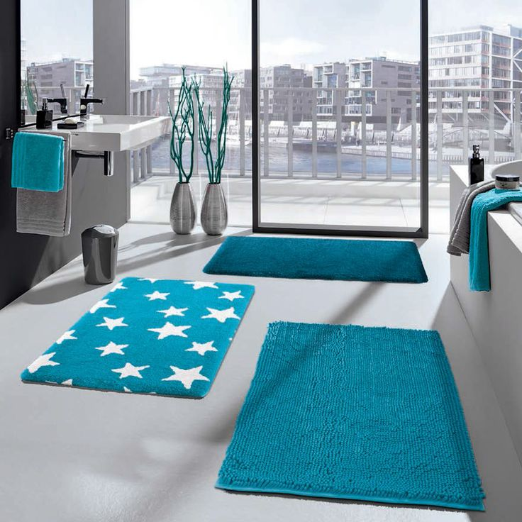 Best Bathroom Decor Ideas Images On Pinterest Bathroom Ideas - Turquoise bathroom rugs for bathroom decorating ideas