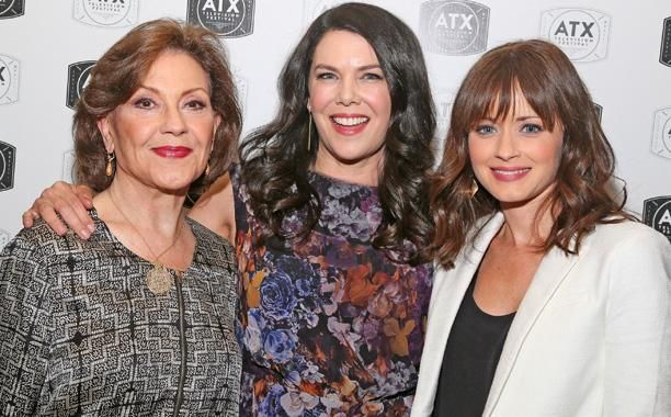 Kelly Bishop, Lauren Graham, and Alexis Bledel - 'Gilmore Girls' Reunion - Stars Hollow Hits the ATX Television Festival Red Carpet - EW.com