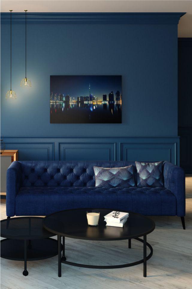 Velvet sofa VEGA