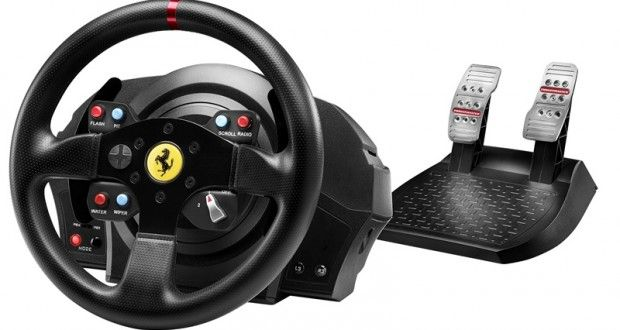 First Racing Wheel For PS4 T300 Ferrari GTE | PlayStation 4 UK