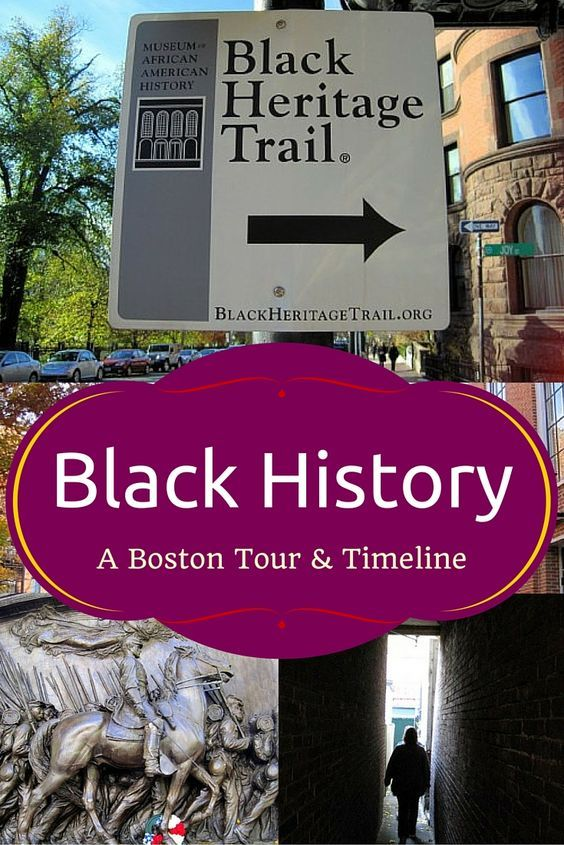 A fascinating timeline of African-American History in Boston, MA, useful for anyone interested in Black History, from teachers and educators to parents!