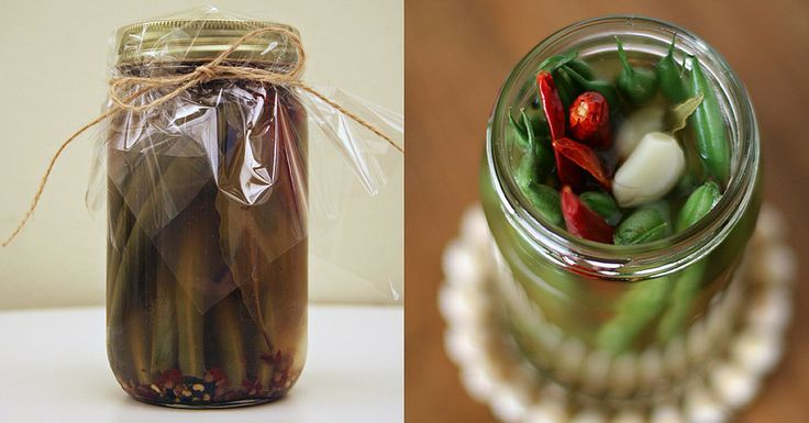 Spicy Pickled Beans