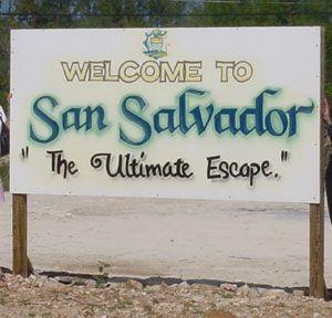 san salvador in the bahamas | Welcome to San Salvador