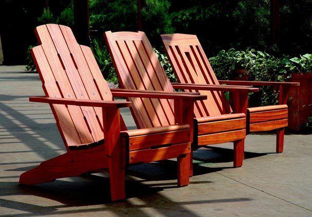 I really like Tim Celeski's adirondack chairs, especially the Greene & Greene / Asian inspired version.