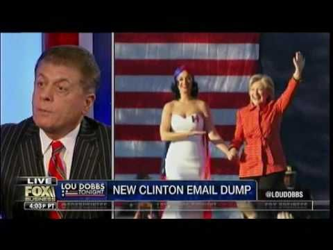 FBI Releases More Clinton Email Records - Smoking Gun - Judge Andrew Napolitano - Lou Dobbs