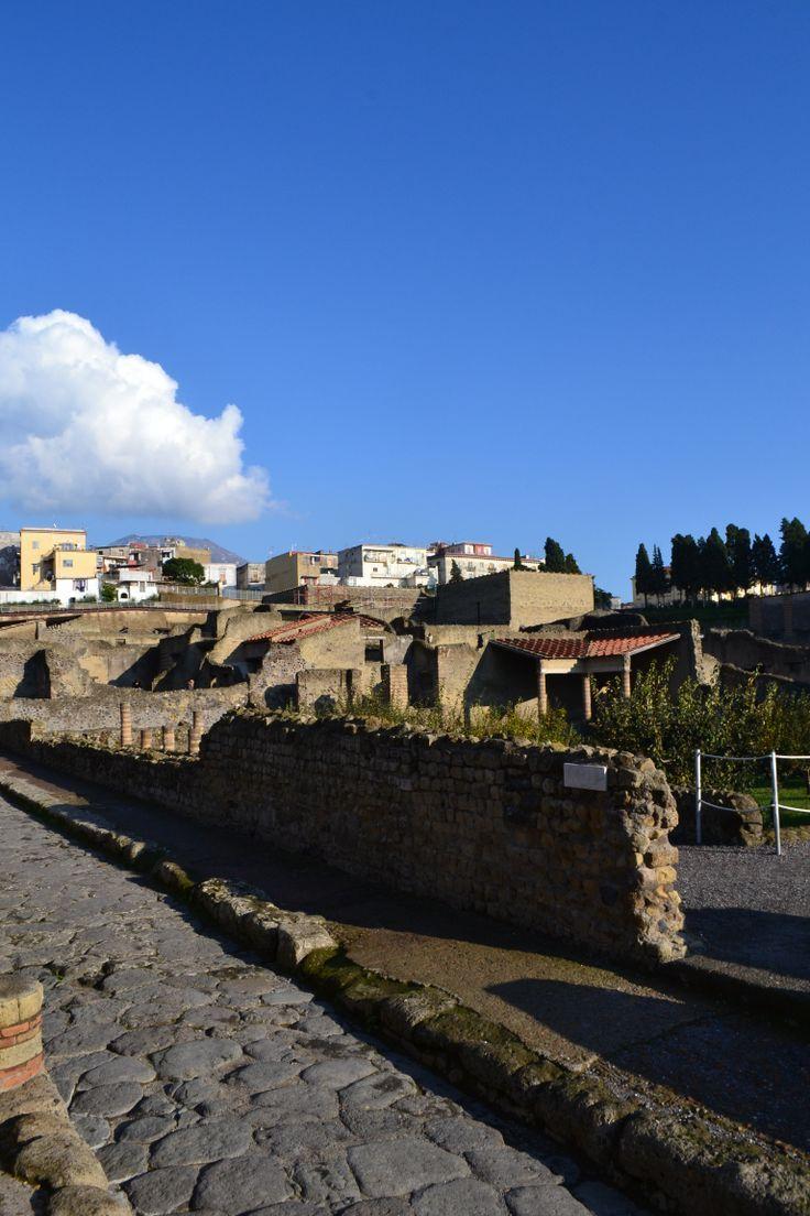 Good Morning Herculaneum Buongiorno da Ercolano   #ercolano #herculaneum #ruins #scavidiercolano #pompeii #museum #villadeipapiri #statue #excursions #travel #italy #faunopompei #road #papyri #streets