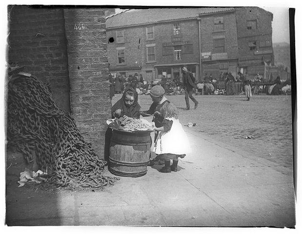 Street scenes of 19th-century Newcastle