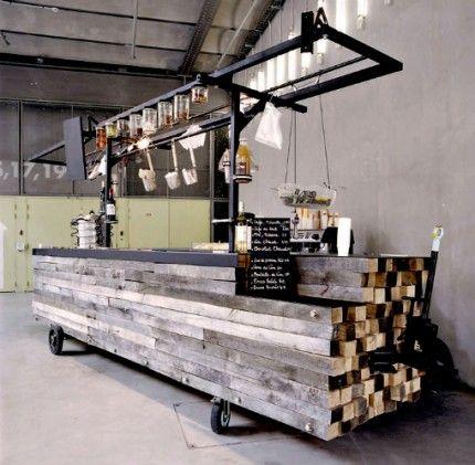 Mobiles Restaurant von Cigue Design... via Designchen