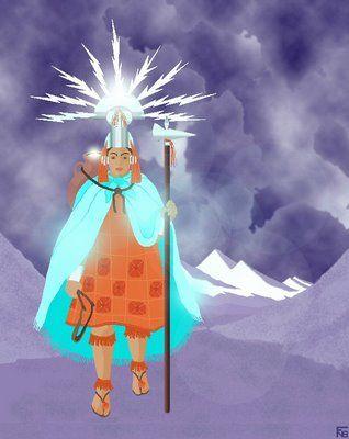 Illapa dios del trueno