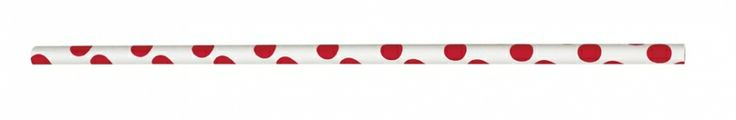 Red Polka Dot Paper Straws - Girls Birthday Party Themes and Party Supplies Online India